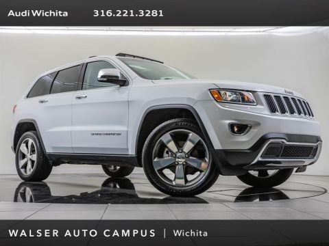 Pre-Owned 2014 Jeep Grand Cherokee Limited, Factory Wheel Upgrade