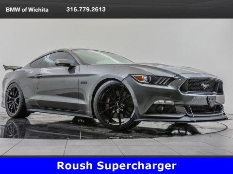 Pre-Owned 2017 Ford Mustang GT Premium, Roush Supercharger, Roush Exhaust