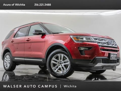 Pre-Owned 2018 Ford Explorer Navigation, Ford Safe and Smart Package
