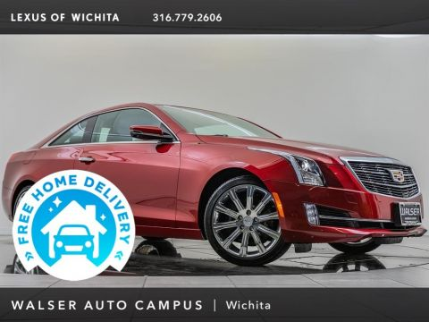 Pre-Owned 2015 Cadillac ATS Coupe Performance