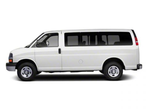 Pre-Owned 2013 Chevrolet Express Passenger LS 3500, Diesel