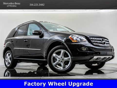 Pre-Owned 2007 Mercedes-Benz M-Class ML350, Factory Sport Wheel Upgrade