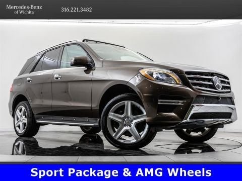 Pre-Owned 2015 Mercedes-Benz M-Class ML 250 BlueTEC 4MATIC, 20-Inch AMG® Wheels, Diesel
