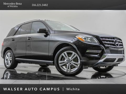 Pre-Owned 2013 Mercedes-Benz M-Class ML350 4MATIC®, Premium 1 Package