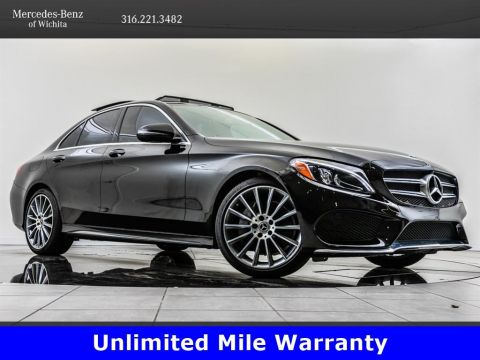 Pre-Owned 2018 Mercedes-Benz C-Class C 300, AMG® Sport Package