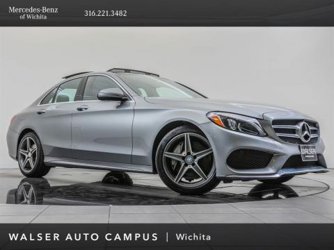 Pre-Owned 2016 Mercedes-Benz C-Class C 300 Sport 4MATIC, AMG® Sport Package