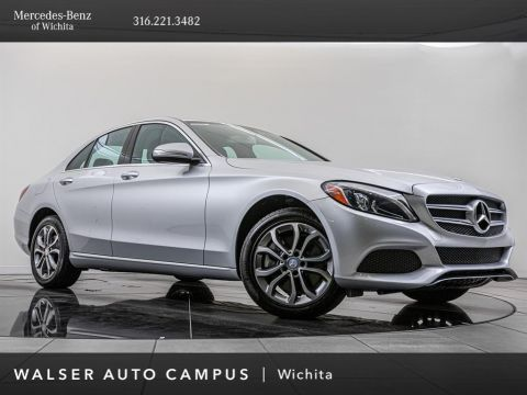 Pre-Owned 2015 MERCEDES-BENZ C300 C 300 4MATIC®, Premium Package