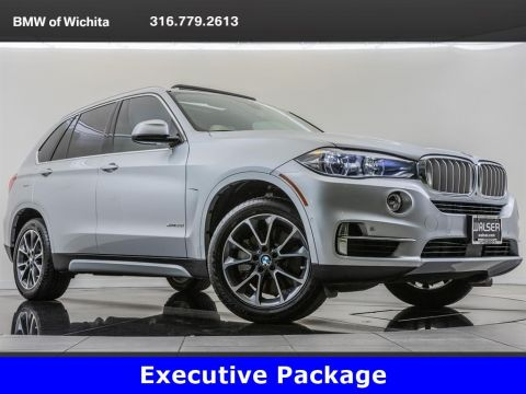 Pre-Owned 2018 BMW X5 xDrive50i, Executive Package
