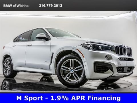 Pre-Owned 2018 BMW X6 xDrive50i, M Sport Pkg, M Wheels