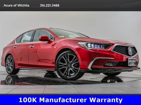 Pre-Owned 2018 Acura RLX Sport Hybrid SH-AWD, $14,300 Off New