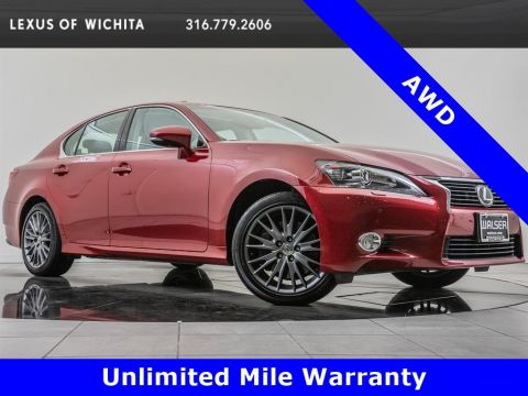 Pre-Owned 2015 Lexus GS 350 AWD, Navigation, Premium Package
