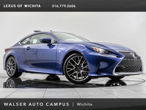 Pre-Owned 2016 Lexus RC 200t F-Sport, Navigation