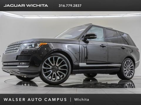 Pre-Owned 2016 Land Rover Range Rover Supercharged, Factory Wheel Upgrade