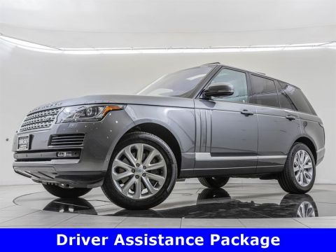 Pre-Owned 2016 Land Rover Range Rover Vision Assist & Driver Assistance Packages