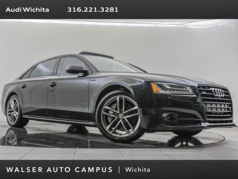Pre-Owned 2017 Audi A8 L Navigation, Executive & Black Optic Packages