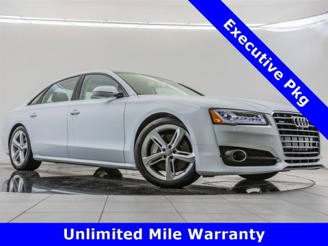 Pre-Owned 2018 Audi A8 L L 3.0T quattro, Executive Package