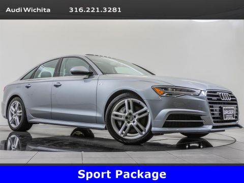 Pre-Owned 2016 Audi A6 2.0T Premium Plus quattro, S Line Sport Package