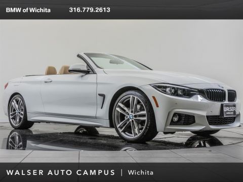 Pre-Owned 2018 BMW 4 Series 430i, M Sport, Premium Packages