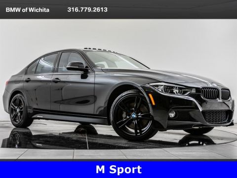Pre-Owned 2017 BMW 3 Series 330i xDrive, M Sport, Black On Black
