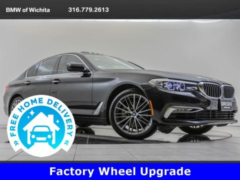 Pre-Owned 2018 BMW 5 Series Driving Assistance Plus Package