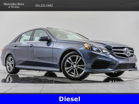 Pre-Owned 2014 Mercedes-Benz E-Class E250 Luxury BlueTEC 4MATIC®, Diesel, Premium Pkg