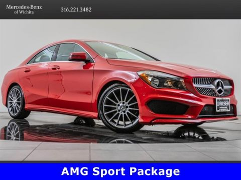Pre-Owned 2016 Mercedes-Benz CLA CLA 250 4MATIC, Sport Pkg, 18-Inch AMG® Wheels
