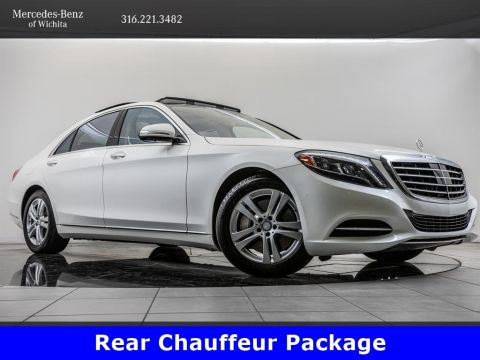 Pre-Owned 2017 Mercedes-Benz S-Class S 550 4MATIC®, Premium Package, Rear Seat Package