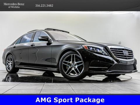 Pre-Owned 2014 Mercedes-Benz S-Class S550 4MATIC, AMG® Sport Package