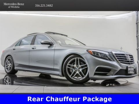 Pre-Owned 2015 Mercedes-Benz S-Class S 550 4MATIC®, Rear Chauffeur Package
