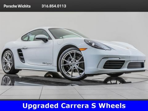 Pre-Owned 2017 Porsche 718 Cayman Carrera S Wheels, PDK