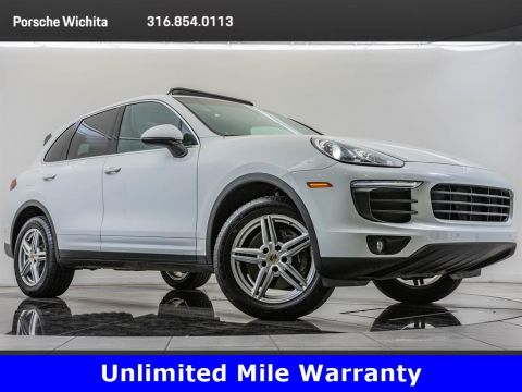 Pre-Owned 2016 Porsche Cayenne Upgraded Wheels, Premium Package