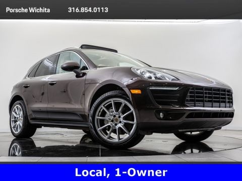 Pre-Owned 2017 Porsche Macan S, Premium Package Plus